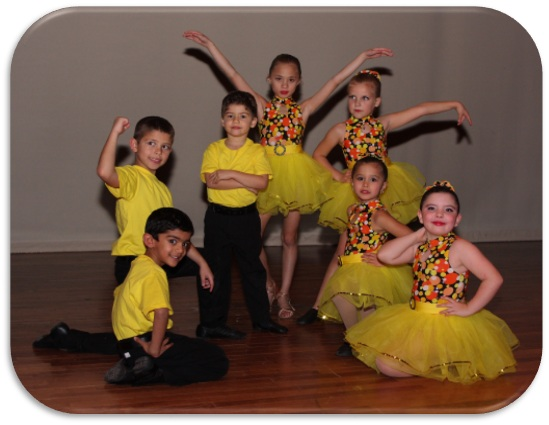 Children Ballroom Dancing